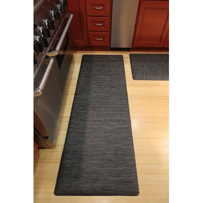 Ultra Comfort Mat Color: Charcoal, Rug Size: 2 x 6