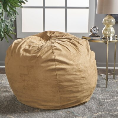 Bean Bag Chair Upholstery: Camel