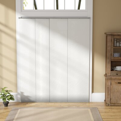 Room Darkening Vertical Blind Color: Seaside White