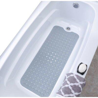 Vinyl Bath Mat Color: Gray