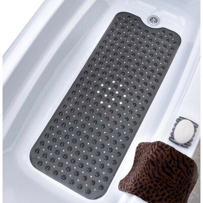 Vinyl Bath Mat Color: Translucent Black