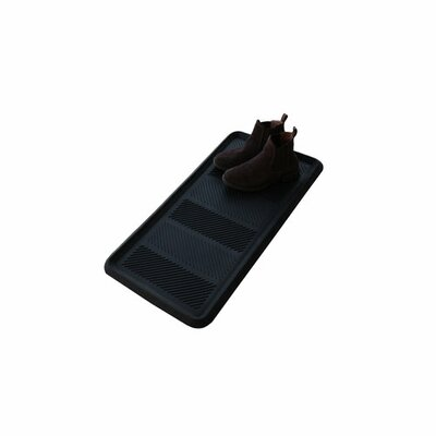 Heavy Duty Flexible 100% Rubber Boot Trays and Scraper