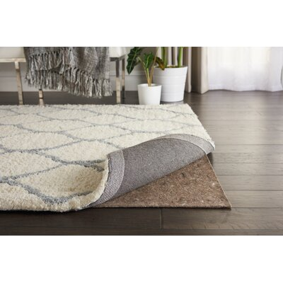 Tan Rug Pad Rug Pad Size: Rectangle 3 x 5