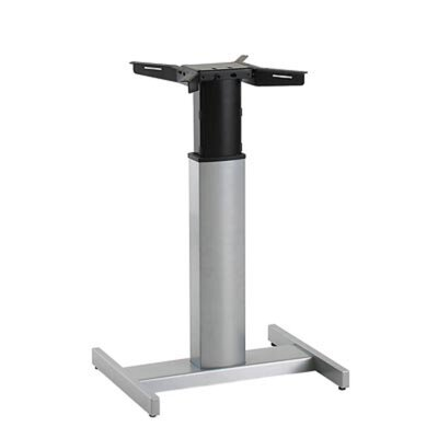 Adjustable Height Standing Desk Conversion Unit Finish: Silver