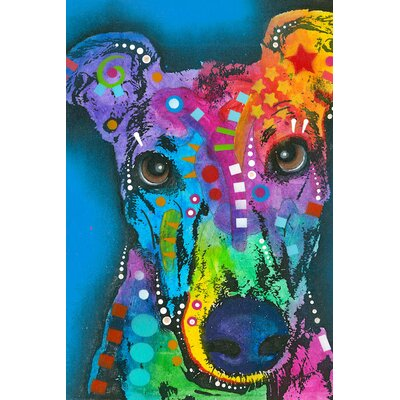 What ya thinking bout? Graphic Art on Wrapped Canvas Size: 12