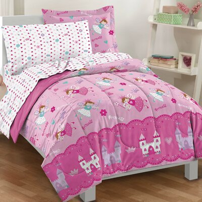 Tierra Princess Reversible 5 Piece Bed-In-A-Bag Set