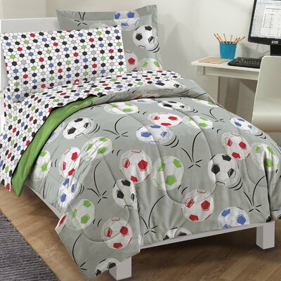 Jailyn Reversible Bed-In-A-Bag Set Size: Twin