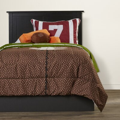 Justyn Reversible Comforter Set Size: Full