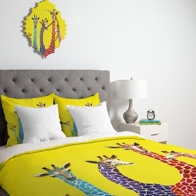 Korey Down Duvet Cover Size: Queen, Fabric: Lightweight