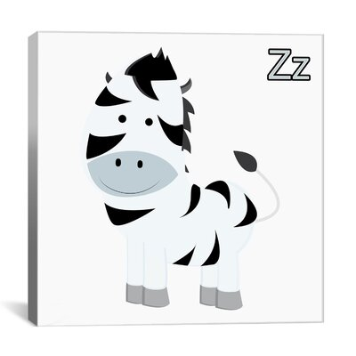 Z is for Zebra Graphic Canvas Wall Art ZMIE1325 28009167