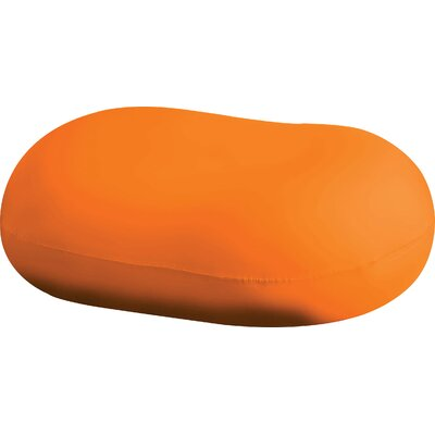 Addie Bean Bag Chair Upholstery: Orange