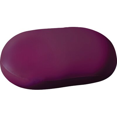 Addie Bean Bag Chair Upholstery: Purple