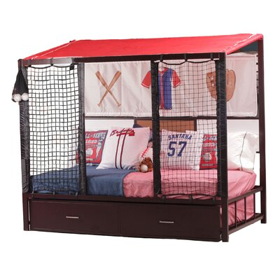 Liana Dugout Twin Mates Bed with Trundle