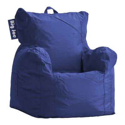 Alysa Kids Bean Bag Lounger Upholstery: Sapphire