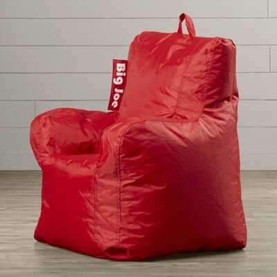 Alysa Kids Bean Bag Lounger Upholstery: Flaming Red