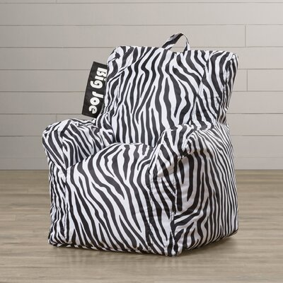 Alysa Kids Bean Bag Lounger Upholstery: Zebra