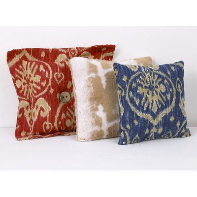 Zechariah 3 Piece Cotton Throw Pillow Set