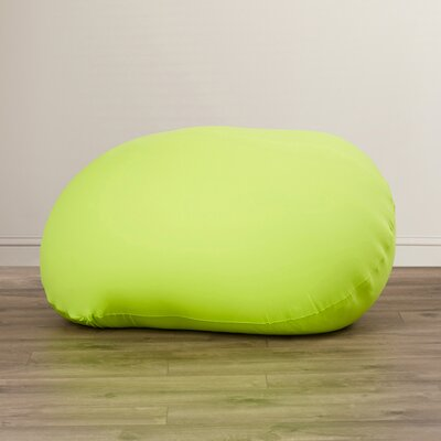 Addie Bean Bag Chair Upholstery: Green