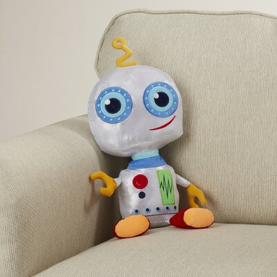 Octavio Robot Throw Pillow