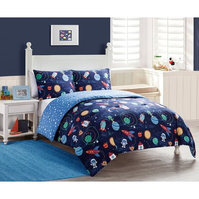 Octavio Reversible Comforter Set Size: Twin
