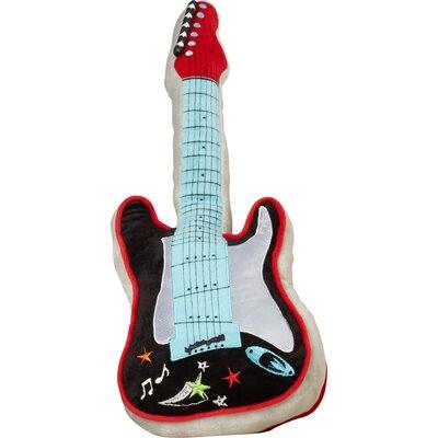 Quintin Guitar Throw Pillow