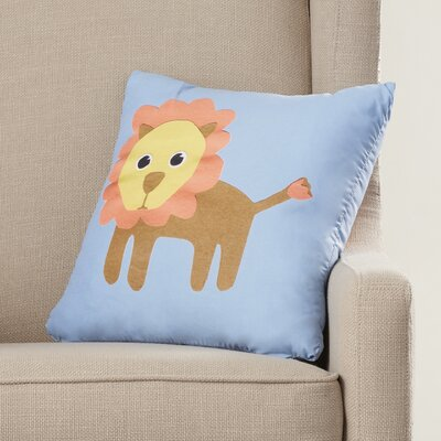 Jazlyn Lion Throw Pillow