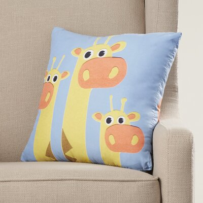 Jazlyn Giraffe Throw Pillow
