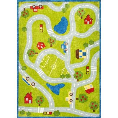 Dianna Green Area Rug Rug Size: 5 x 8
