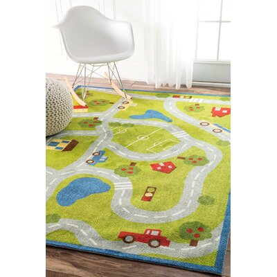 Dianna Green Area Rug Rug Size: Rectangle 4 x 6