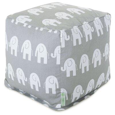 Napoleon Small Cube Ottoman Upholstery: Gray