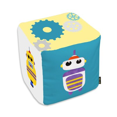 Jazlyn Robots Everywhere Pouf