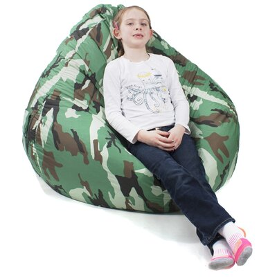 Jack Tear Drop Safari Bean Bag Lounger Color: Camouflage