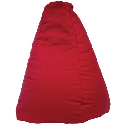Jack Tear Drop Safari Bean Bag Lounger Color: Red