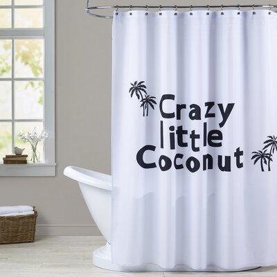 Milo Little Coconut Print Shower Curtain