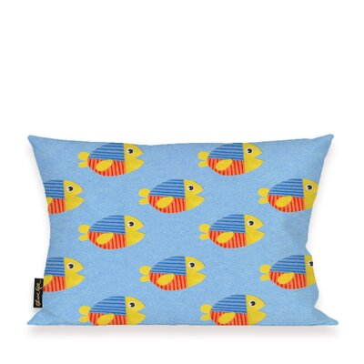 Adriana Happy Fish Throw Pillow