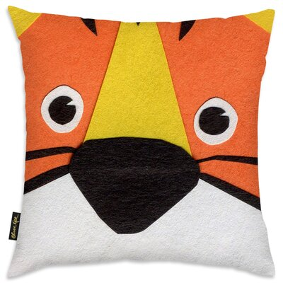 Jazlyn Home Tiger Throw Pillow