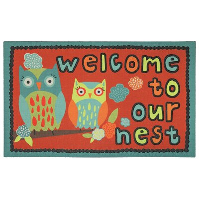 Adrienne Our Nest Welcome Doormat