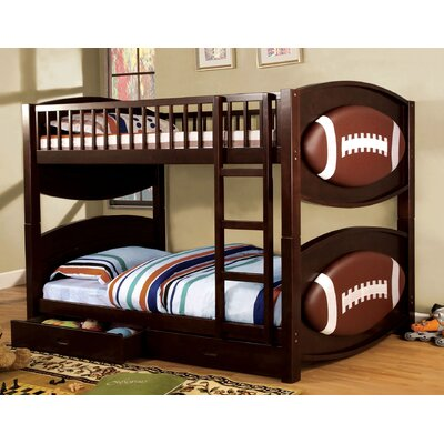 Aiden Twin Bunk Bed with Storage
