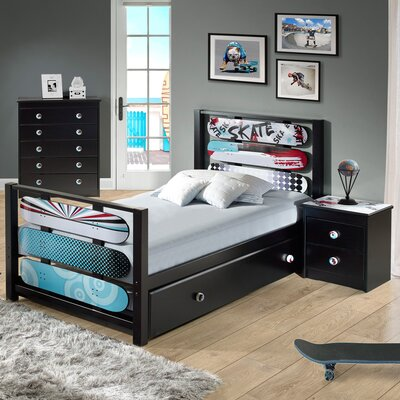 Desmond Twin Platform Customizable Bedroom Set