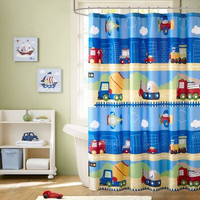 Alton Printed Shower Curtain