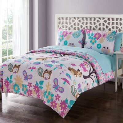 Allison Reversible Comforter Set Size: Full