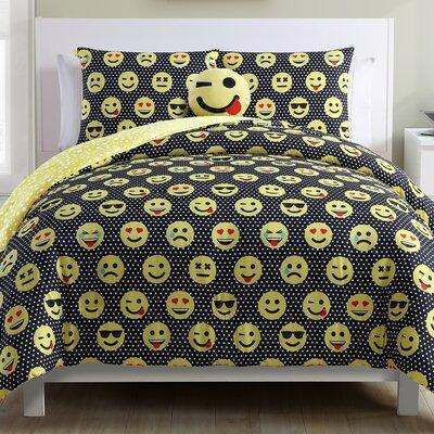 Allie Reversible Comforter Set Size: Full