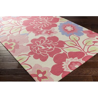 Blake Hand-Hooked Area Rug Rug size: Rectangle 3' x 5'