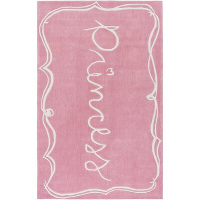 Cesar Hand-Tufted Pink/Neutral Area Rug
