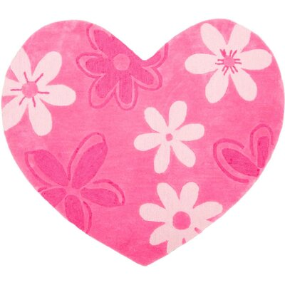 Jada Pink Area Rug Rug Size: Rectangle 7 x 8
