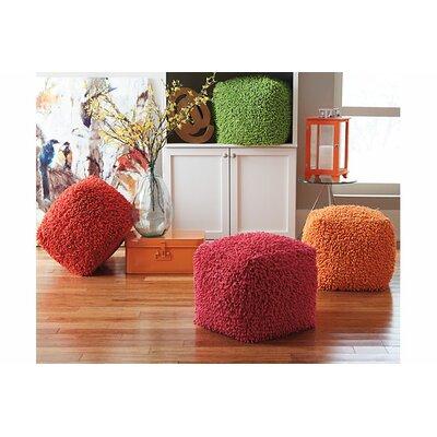 Kayna Ottoman Upholstery: Orange
