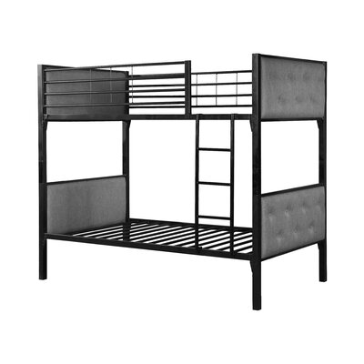 Aria Twin Bunk Bed Finish: Gray