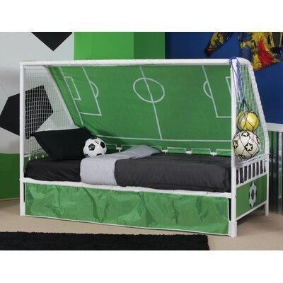 Arlene Goal Twin Keeper Canopy Bed