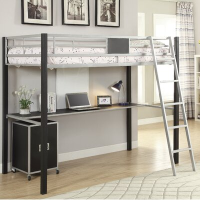 Roosevelt Industrial Twin Bunk Bed
