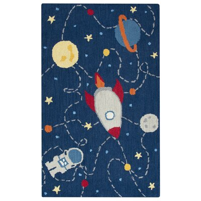 Ashlee Hand-Tufted Navy Kids Rug